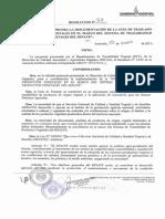 SENAVE Resolucion Nº 27 2015