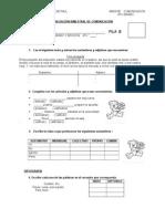 Evaluación Bimestral de Comunicación4to