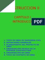 Construccion II-cap i - Introduccion