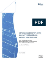 Virtualizing Desktops With SUN RAY (Tm) Software and Vmware View Manager