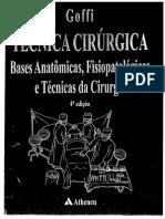 Técnica Cirurgica - Goffi 4ª Ed