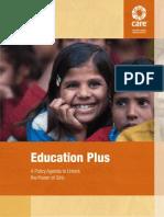 CARE Education Plus Report