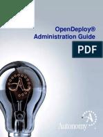 Open Deploy Admin Guide 7.2