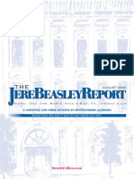 The Jere Beasley Report Aug. 2006
