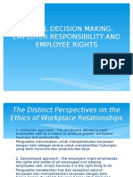 Chapter 6 Ethical Decision Making