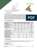 Sensirion Liquid Flow LG16 Datasheet V1.5