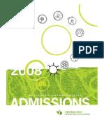 NID Admission Brochure 08