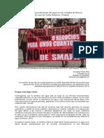 Las luchas contra la Privatización del agua en las ciudades de México