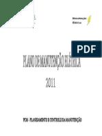 Capa Do Plano de Manutenção
