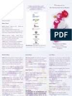 documentos dia internacional de las mujeres 2015, programa de actos 2e4a6221