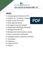 Casa de Pvc Manual Montagem RBS 64