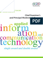 A2AS AICT Chief ExaminerPrincipal Moderator Report MayJune Series 2013 13163