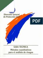 Técnica metodologías para el análisis de riesgos. Métodos cuantitativo.pdf