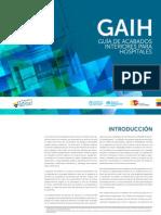 Guia Acabados Interiores Hospitales