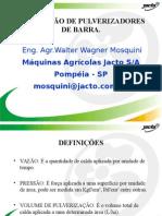 CALIBRACION DE PULVERIZADORES DE BARRA