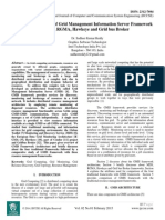 A Comparative Study of Grid Management Information Server Framework with MDS, RGMA, Hawkeye and Grid bus Broker