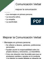 Técnicas de Comunicación Verbal