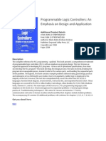 Programmable Logic Controllers an Emphasis on Design eBook