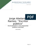 Jorge Abelardo Ramos - Escritor Público