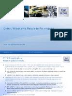 Presentazione dei dati di bilancio 2009 del Gruppo Fiat
