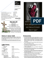 March 8, 2015 Bulletin