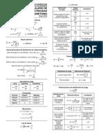 Formulario de Electricidad y Magnetismo
