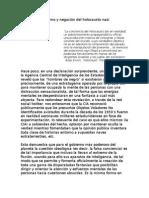 Sionismo y Negación Del Holocausto Nazi (Para El SDP) - Antonio Degante