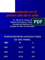 Alimentacion Primer Año de Vida - Dr. Mervin Chavez