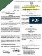 Acdo. Gub. 88-2015 Reglamento Orgánico Interno de Dirección General de Investigación Criminal