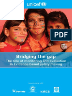 5 Monitorin Evaluation Evidence Based Policy Making