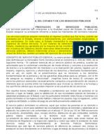 Servicio Publico y Servicio Publico Domiciliario
