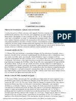 Constituição Dogmática Lumen Gentium - A Igreja