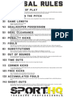 futsal rules