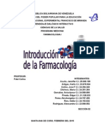 Introducción a la Farmacologia