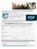 WFSE/AFSCME Membership Card