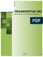 Estructura Organizativa Del Proyecto