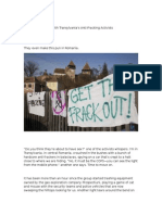Shale Gases-Midnight Sabotage With Transylvania's Anti-Fracking Activists
