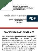 Propuesta Comisión Seguimiento
