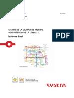 Linea 12 Del Metro reporte