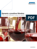 Andritz Dynamic crossflow filtration