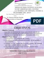 """Factores de Riesgo para intento suicida en Privados de Libertad en el centro penitenciario de Tipitapa """"La Modelo"""""""