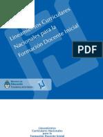 lineamientos curriculares para la educación inicial República Argentina