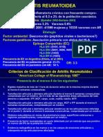 farmacologia de la Artritis Reumatoide