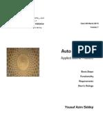 Auto Murabaha (Applied Finance)