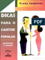 260 Dicas Para O Cantor Popular