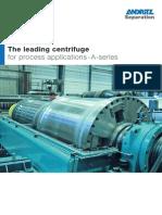 Andritz decanter centrifuge