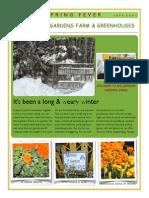 Millennium Gardens Newsletter March 6 2015