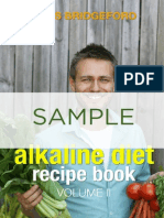 Recipe Book alkaline diet