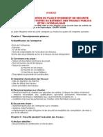 Guide Delaboration Du Plan Dhygiene Et de Securite Specifique Aux Activites Du Btph
