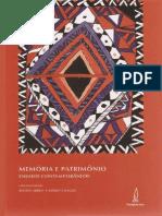 06 Memoria e Patrimonio Ensaios Contemporaneos